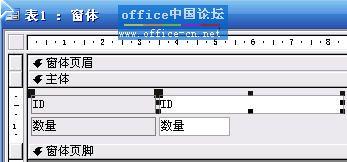打开窗体,点中想要设计的文本框.